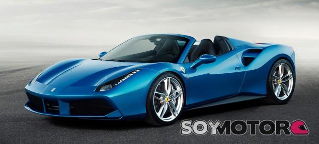 Ferrari 488 Spider, 670 caballos turbo a cielo abierot -SoyMotor