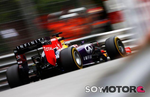 Sebastian Vettel en el Principado de Mónaco - LaF1