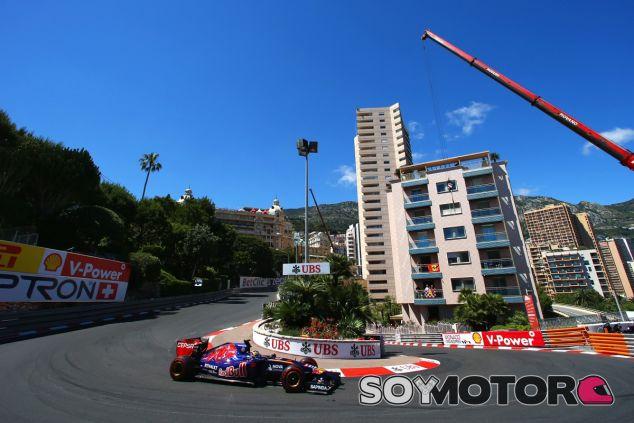 Jean-Éric Vergne en la horquilla de Mónaco - LaF1