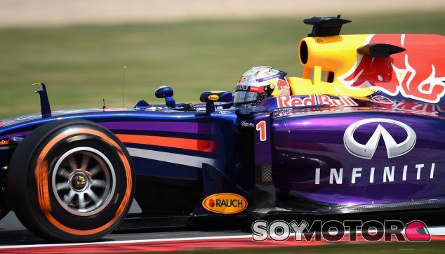 Sebastian Vettel a bordo del RB10 - LaF1