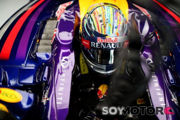 Sebastian Vettel en Gran Bretaña - LaF1