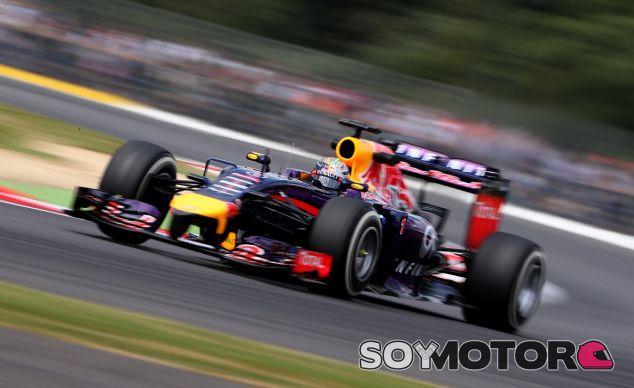Sebastian Vettel en Silverstone - LaF1