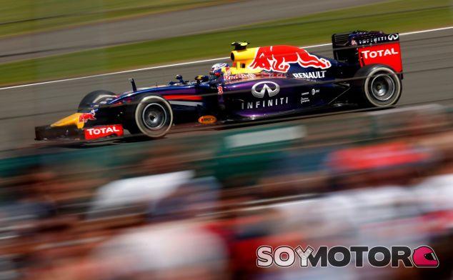 Daniel Ricciardo en el Gran Premio de Gran Bretaña - LaF1