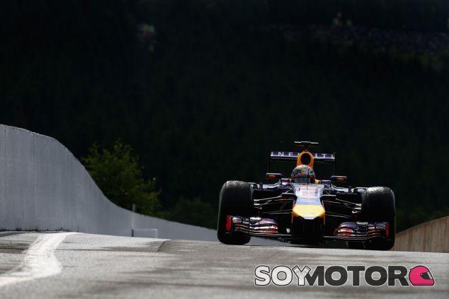 Sebastian Vettel en Spa - LaF1
