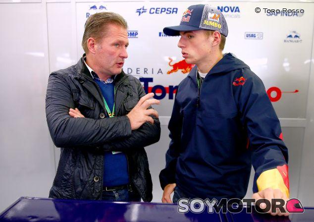 Jos y Max Verstappen - LaF1