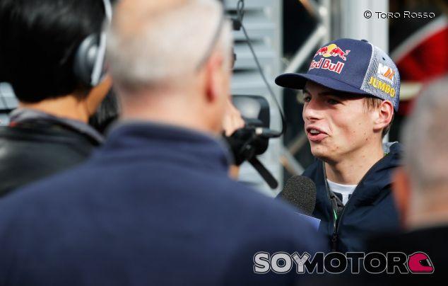 Max Verstappen en el Gran Premio de Bélgica -  LaF1