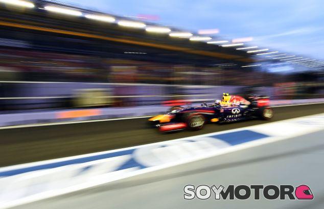 Daniel Ricciardo en Singapur - LaF1
