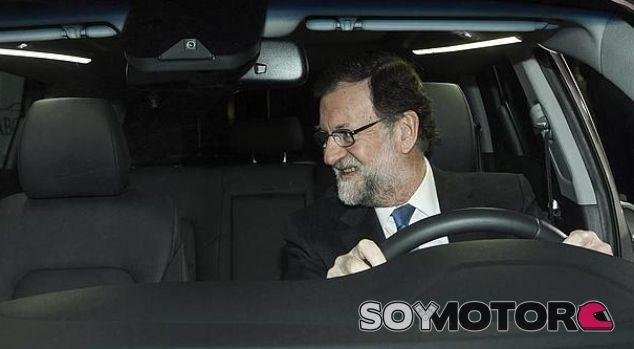 Rajoy a volante de un Hyundai Tucson – SoyMotor.com