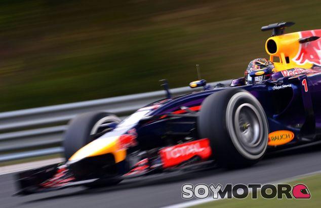 Sebastian Vettel en Hungría - LaF1