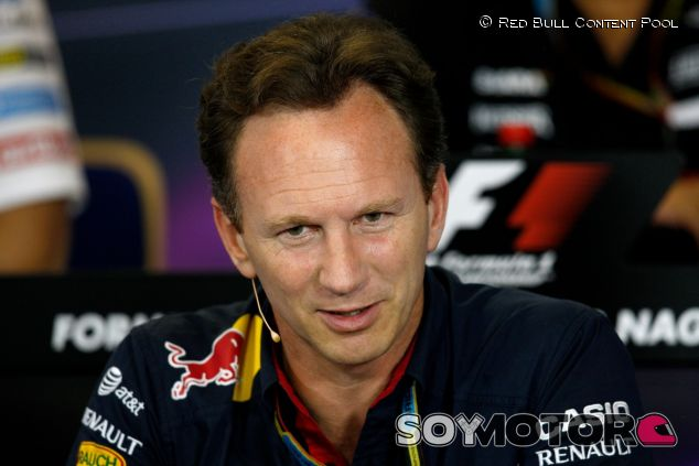 Christian Horner en la rueda de prensa oficial de la FIA - LaF1