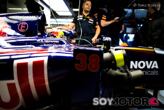 Max Verstappen en los Libres de Japón 2014 - LaF1