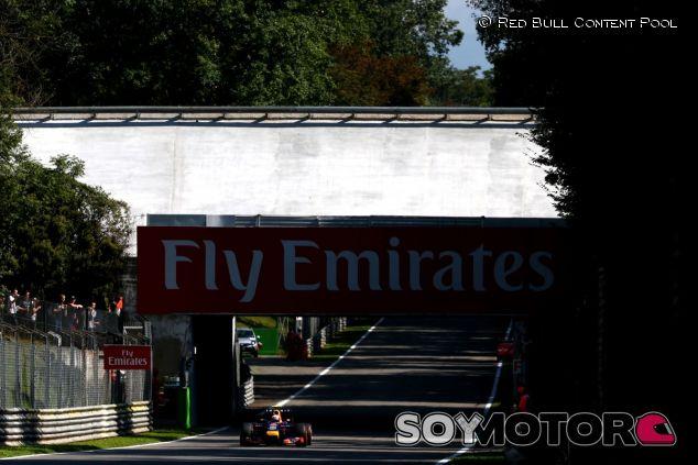 Daniel Ricciardo en Monza - LaF1