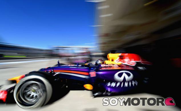 Sebastian Vettel en el Circuit of the Americas - laF1