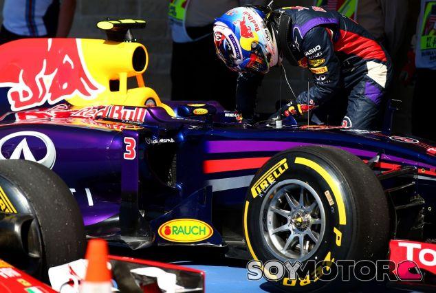 Daniel Ricciardo al término de la clasificación - LaF1