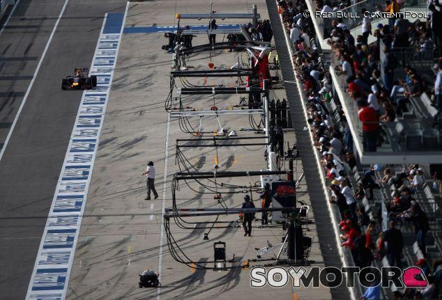 Pit-Lane del pasado Gran Premio de Estados Unidos - LaF1