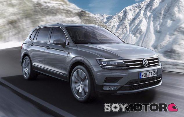 Volkswagen Tiguan Allspace de siete plazas - SoyMotor