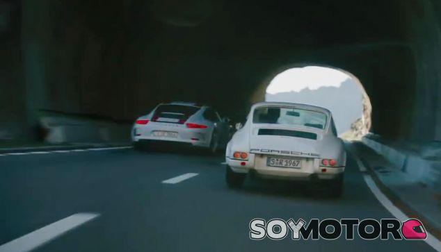 Vieja y nueva escuela juntos y unidos por el mismo concepto. Porsche 911 R - SoyMotor