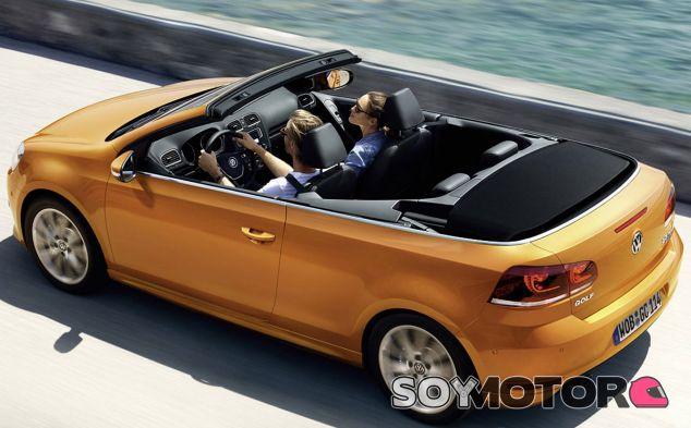 Ligeros cambios para el Volkswagen Golf Cabrio - SoyMotor