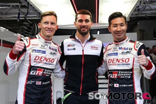 Mike Conway, José María López y Kamui Kobayashi, trío del Toyota 7 - SoyMotor