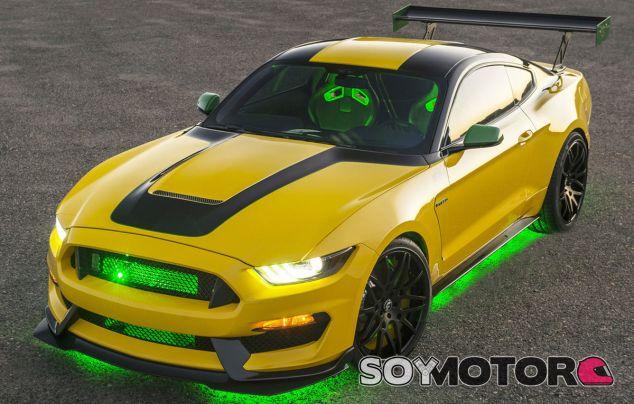 Este Ford Mustang ha sido preparado por Ford Performance con el mundo de la aeronáutica como inspiración - SoyMotor