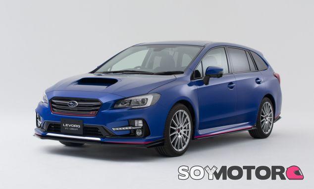 Este fue el Subaru Levorg STI Concept que se conoció hace meses - SoyMotor