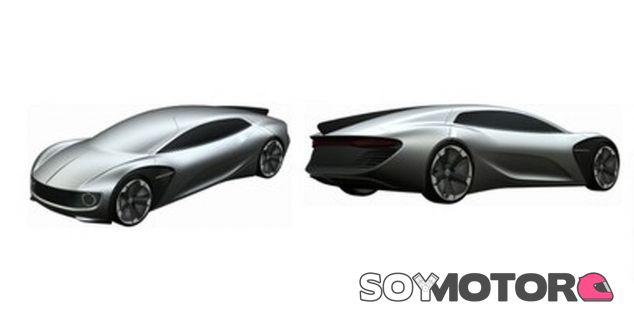 El diseño de este prototipo bien podría ser sacado de una película futurista o de ciencia ficción - SoyMotor