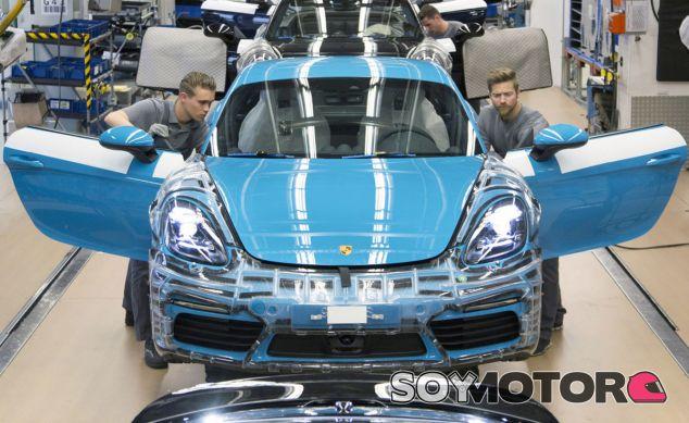 El Porsche 718 Cayman está cada vez más cerca de ser una realidad - SoyMotor
