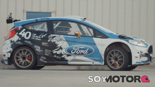 Simone Tempestini en plena acción con el Ford Fiesta R5 - SoyMotor