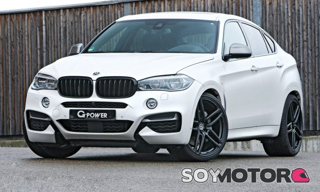 G-Power radicaliza el motor diésel de tres turbos de este BMW X6 - SoyMotor