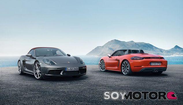 La reducción de cilindros no afecta al atractivo de los Porsche 718 Boxster y 718 Boxster S - SoyMotor