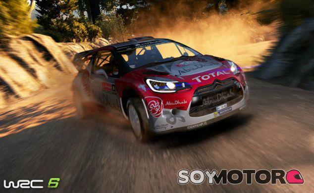 El Citroën DS3 WRC es uno de los protagonistas del videojuego - SoyMotor
