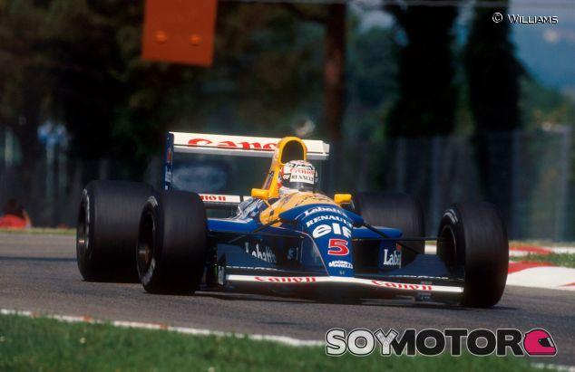 Nigel Mansell en el año 1992 - LaF1