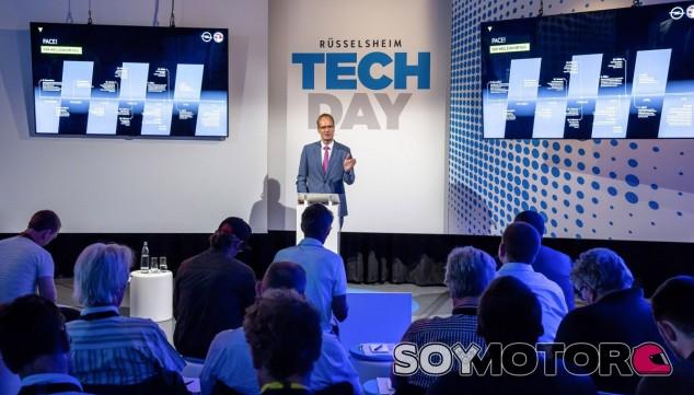 El 'TechDay' es una de las jornadas más importantes para Opel como marca - SoyMotor