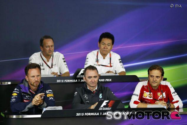 Rueda de prensa del viernes en el GP de Japón - LaF1