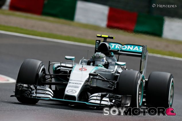 Rosberg pierde la carrera en la salida - LaF1