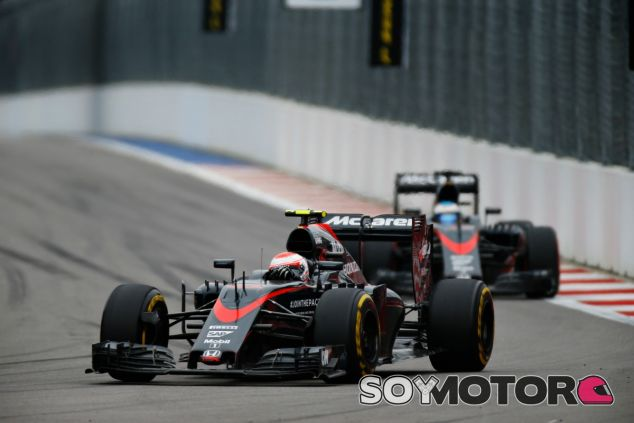 Button se marca como objetivo luchar por el título en 2017 - LaF1