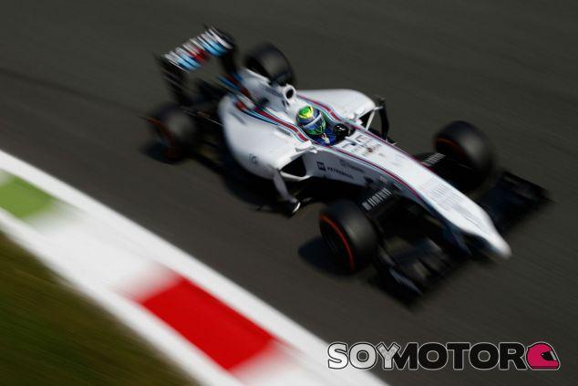 Felipe Massa quedó tercero en el GP de Italia 2014 - LaF1