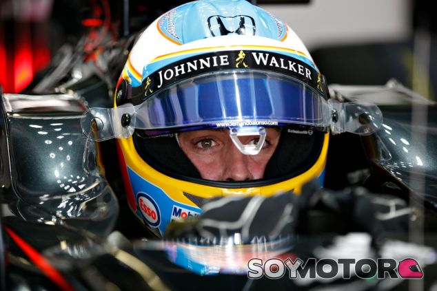 Alonso se mostró frustrado tras verse adelantado por Ericsson - LaF1