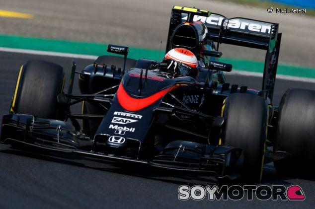 Jenson Button en el GP de Hungría - LaF1