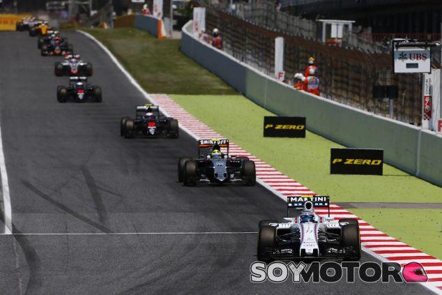 Valtteri Bottas en acción durante el Gran Premio de España - LaF1