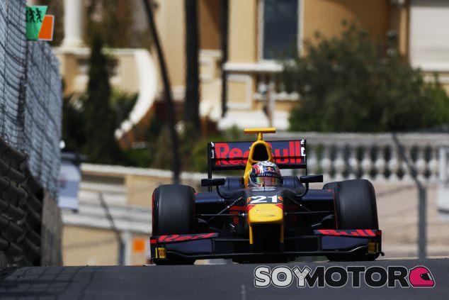 Pierre Gasly con la GP2 en Mónaco - LaF1