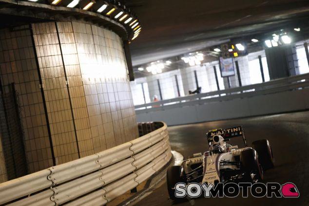 Valtteri Bottas por el túnel de Montecarlo - LaF1.es