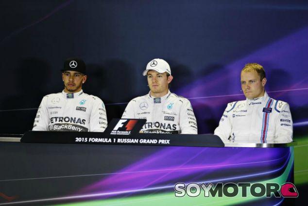 Rosberg se lleva la pole por delante de Hamilton y Bottas - LaF1