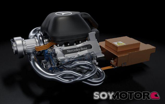 El V6 de Mercedes - LaF1.es