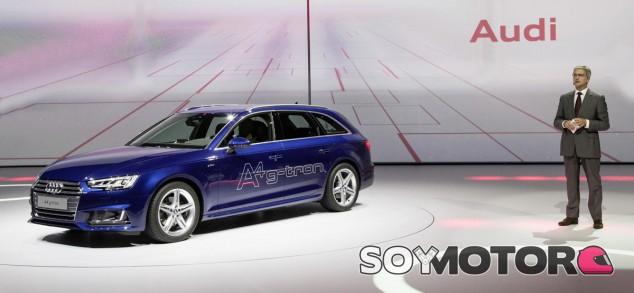 El Audi A4 Avant g-tron sigue la estela del A3 Sportback g-tron - SoyMotor