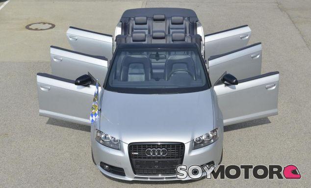 Audi A3 cabriolet con 6 puertas y 8 asientos -SoyMotor