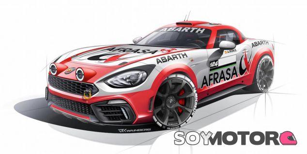 Abarth 124 Rally del Nacional de Asfalto en 2017 - SoyMotor.com