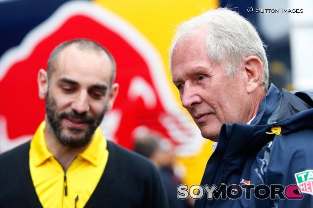 Cyril Abiteboul y Helmut Marko en Austria - SoyMotor.com