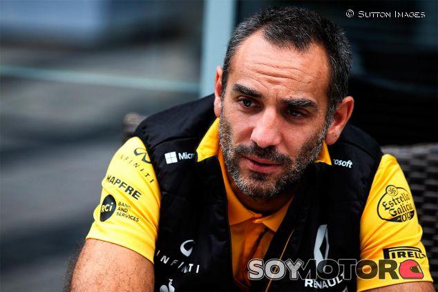 Cyril Abiteboul en el pasado GP de Rusia - SoyMotor