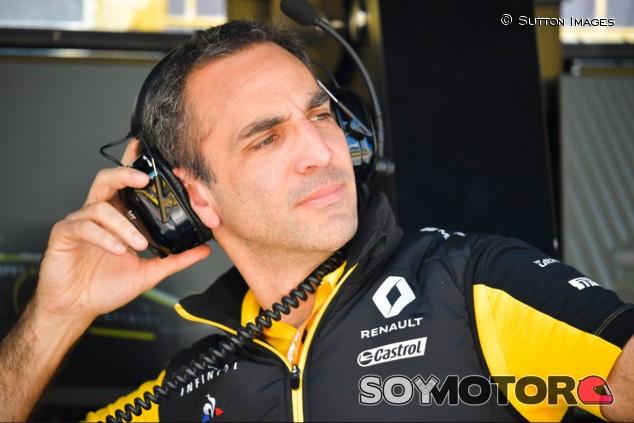 Abiteboul, positivo sobre la continuidad de Renault en la F1 - SoyMotor.com